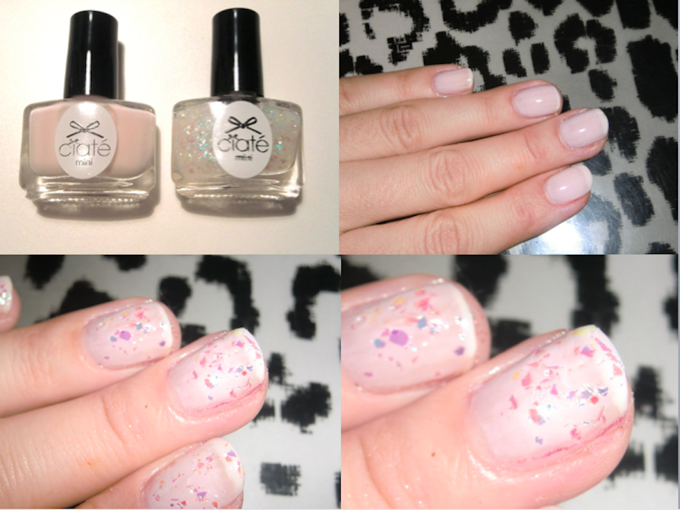 \Glitter NailArt Ciaté, Tutorial, fashion blog mekivi\