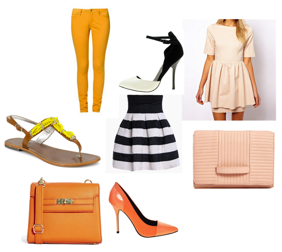 Farbtrends Früjahr/Sommer 2014, must-haves, fashionblog schweiz