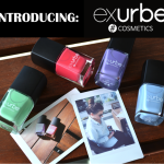 Introducing: exurbe COSMETICS.