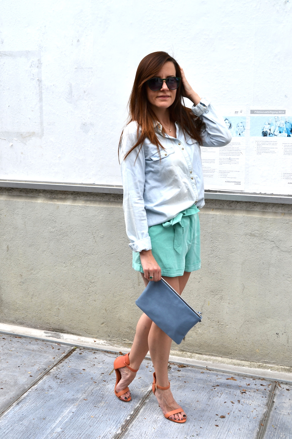 summery outfit in pastel colors, fashionblogger switzerland