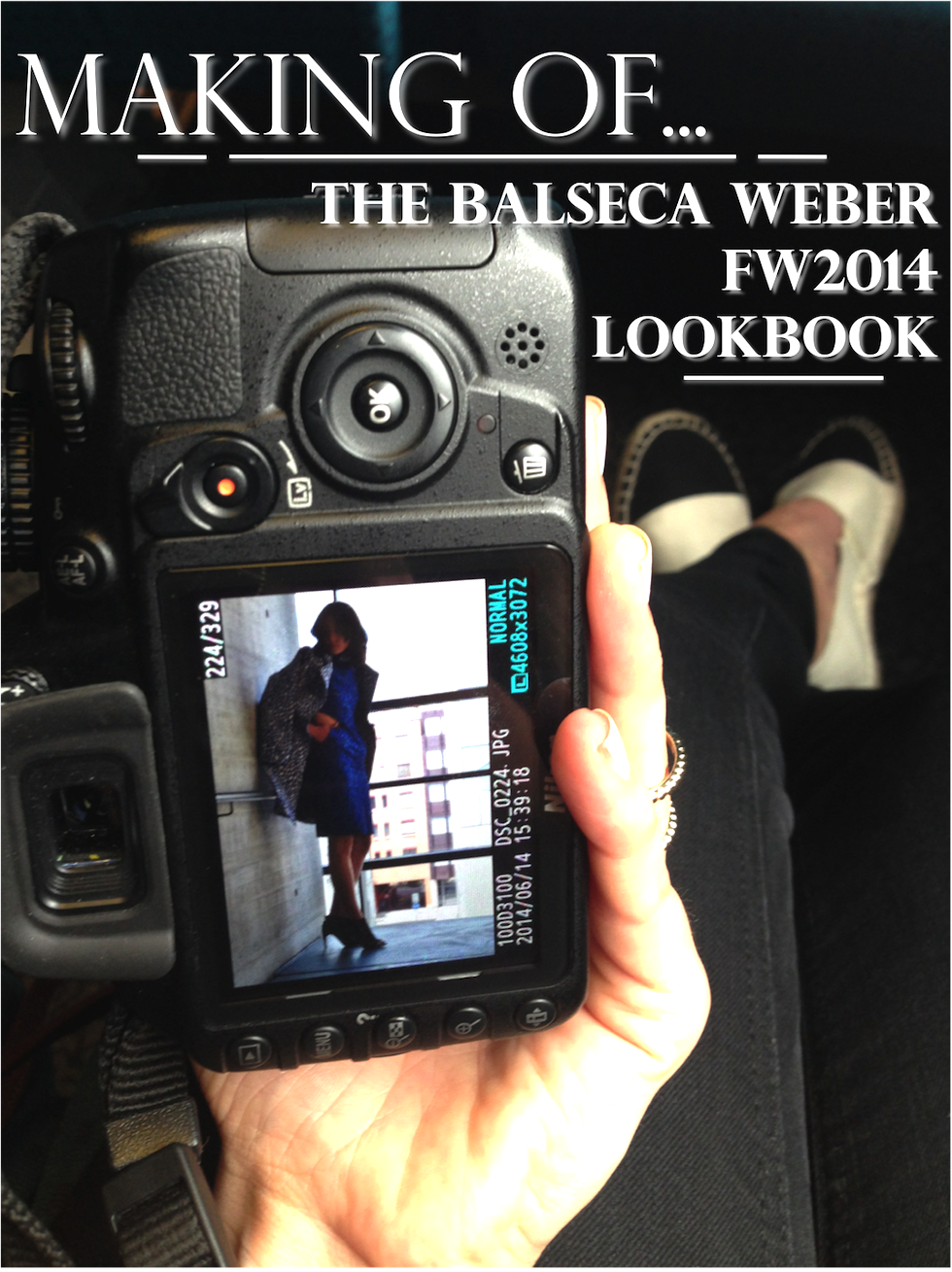 \making of fashion lookbook balseca weber fw 2014\