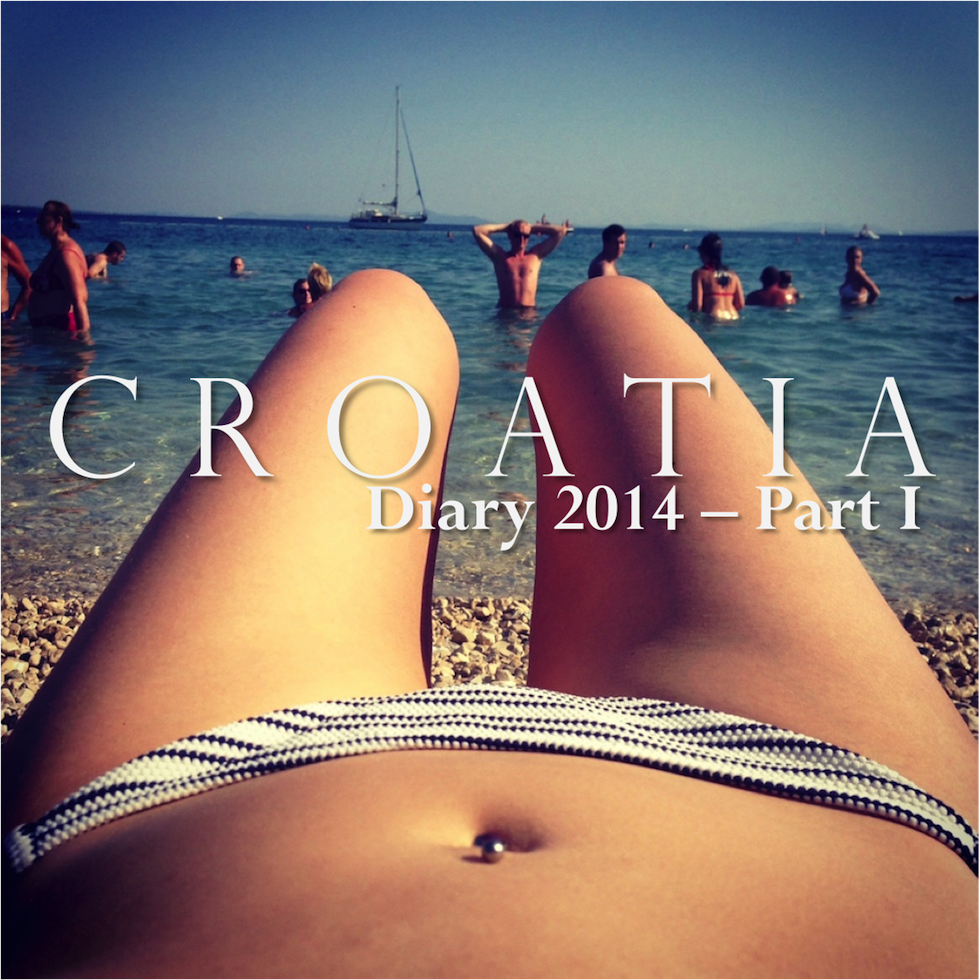 Croatia Travel Diary Part I