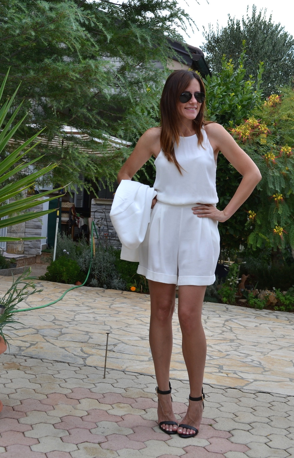 weiss in weiss - outfit sommer 2014