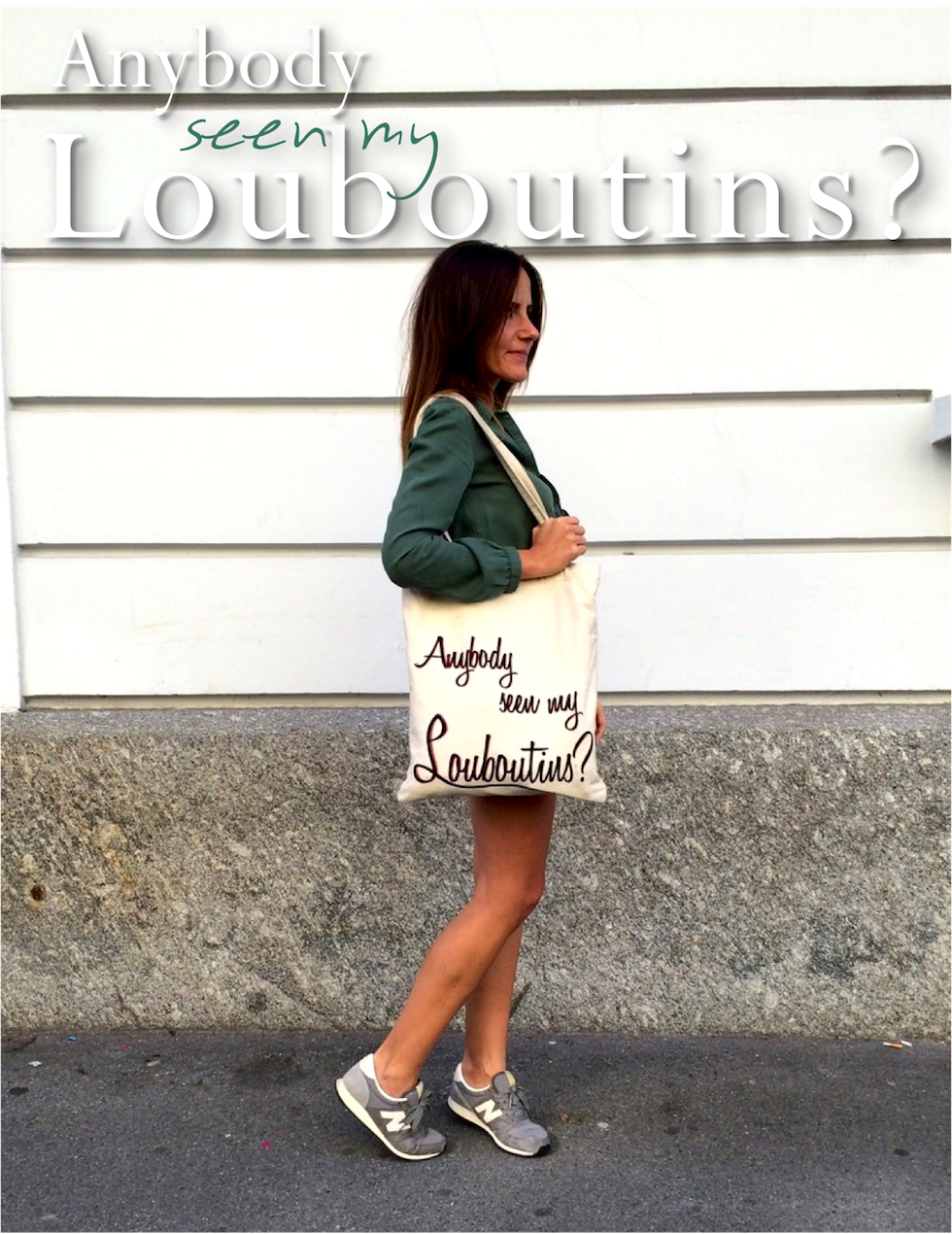 \shopper anybody seen my louboutins, mekivi mode blog schweiz\