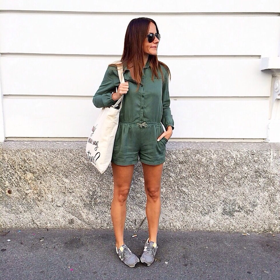 New Balance sneakers, jumpsuit, playsuit grün zara kids