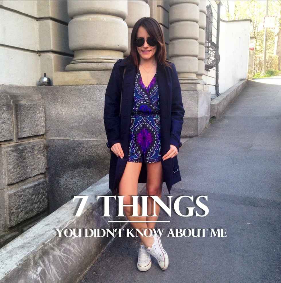 \7 Things you didn\t know about me mekivi fashionblog\