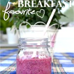 Fave Breakfast: Superberry-Power Smoothie
