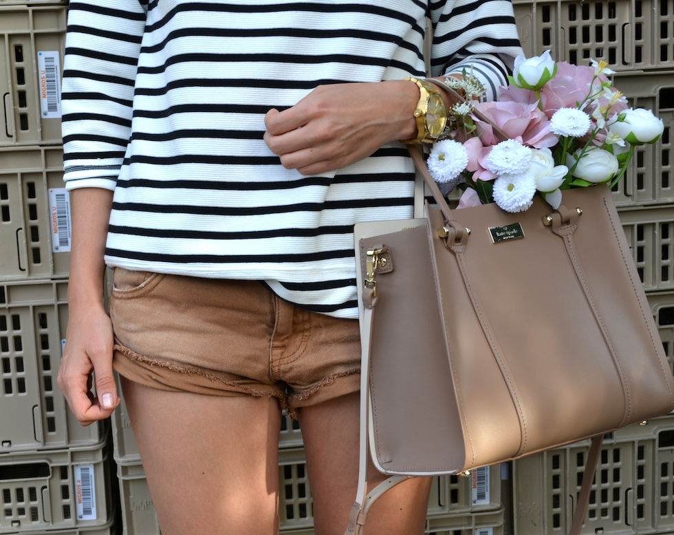 Freepeople shorts brown, ripped shorts, fashionblog luzern