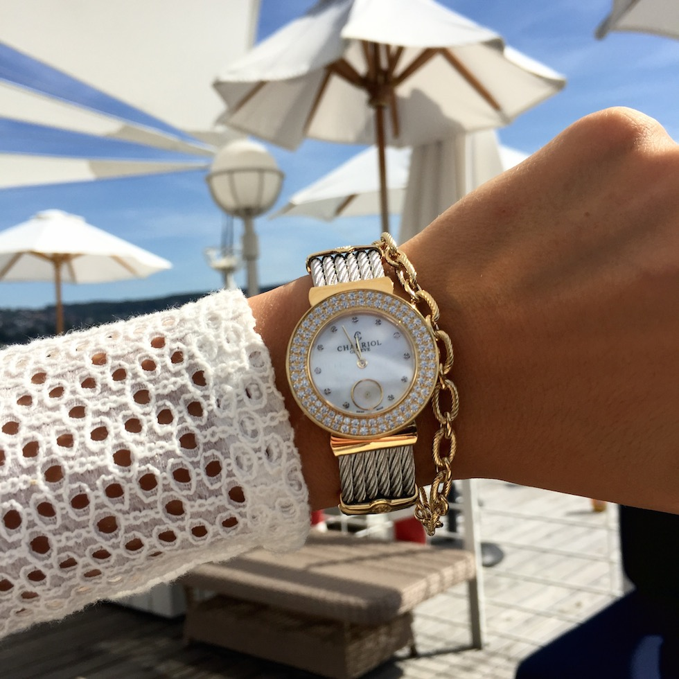Charriol St. Tropez Style Watch Diamonds
