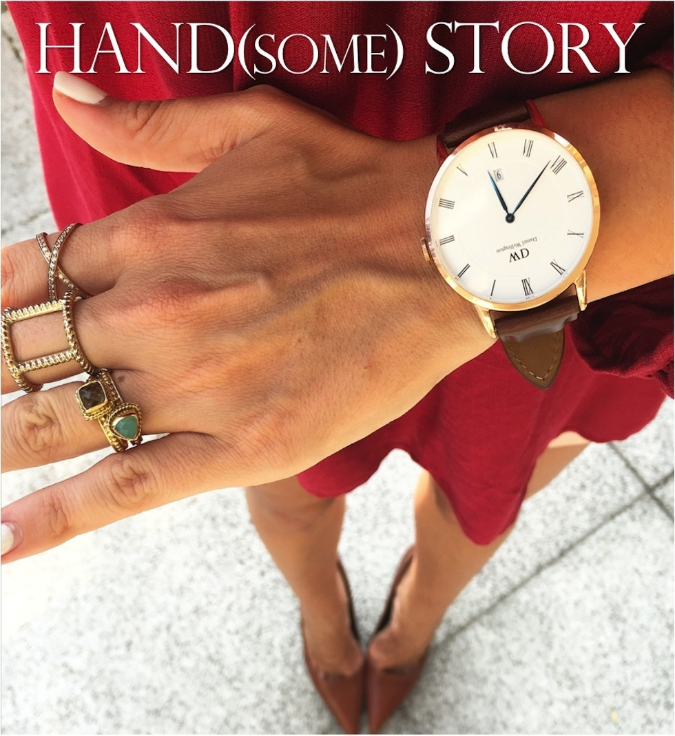 Handsome Story Daniel Wellington Dapper St Mawes Rosé Gold